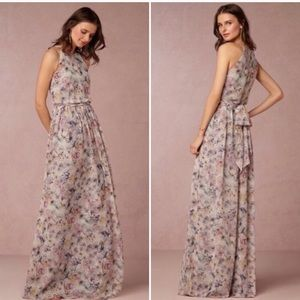 BHLDN Donna Morgan Alana floral dress